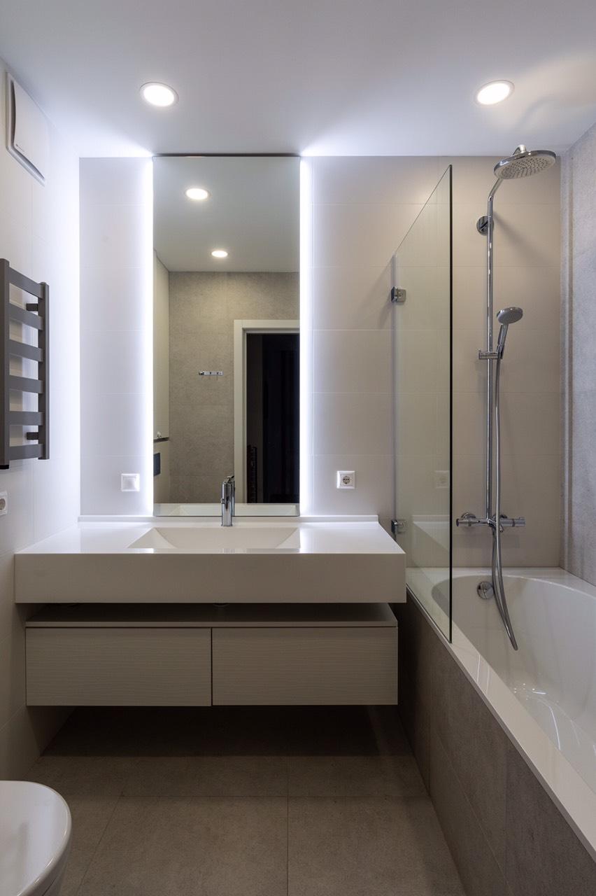 """Меблі для ванної кімнати ЖК """"Французський квартал"""""""